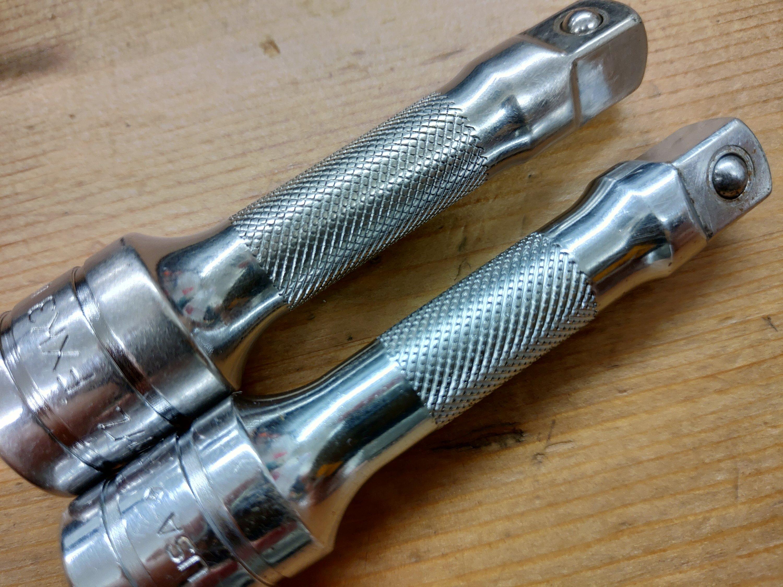 新旧のローレット加工の違い | やーまんの工具ブログ